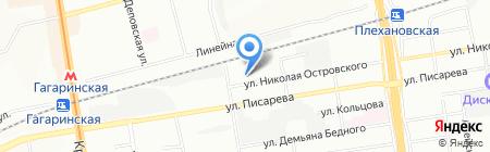 ТехАльянс на карте Новосибирска