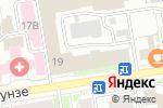 Схема проезда до компании Автокровать.рф в Новосибирске