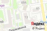 Схема проезда до компании ПРО-ОТДЫХ Новосибирск в Новосибирске