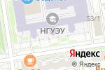 Схема проезда до компании Промснаб в Новосибирске