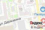 Схема проезда до компании АВАНГРАД в Новосибирске