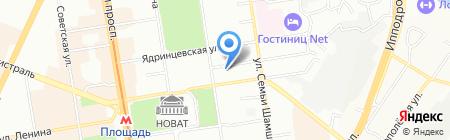 МАГИСТРА ЛО ГРУП на карте Новосибирска