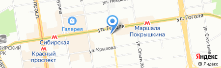 Твой на карте Новосибирска