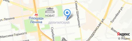 Свой йогурт на карте Новосибирска