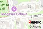 Схема проезда до компании Оксбридж в Новосибирске