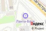 Схема проезда до компании Омега Трейд в Новосибирске