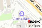 Схема проезда до компании Авторская студия красоты Олеси Альбертовны в Новосибирске