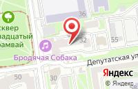 Схема проезда до компании Гарант-Блок в Новосибирске