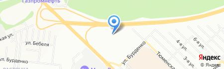 Глобал на карте Новосибирска