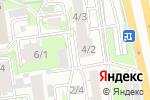 Схема проезда до компании АТЛАНТА СЕРВИС в Новосибирске