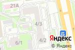 Схема проезда до компании Союз позитивных лидеров в Новосибирске