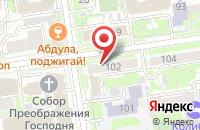 Схема проезда до компании Бизнес-Конструктор в Новосибирске