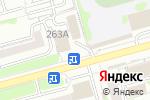 Схема проезда до компании Эклер в Новосибирске