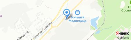ГлавПечьТорг на карте Новосибирска