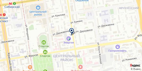 Ритуальное хозяйство на карте Новосибирске