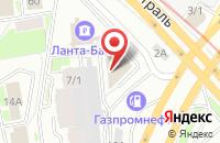 Схема проезда до компании Ардент в Новосибирске