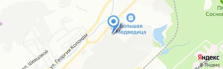 МастерН на карте Новосибирска