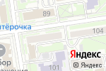 Схема проезда до компании ЮрЖилЭксперт в Новосибирске