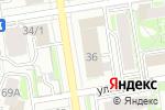 Схема проезда до компании Милый дом в Новосибирске