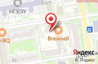 Схема проезда до компании Сибирская Типография в Новосибирске