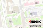 Схема проезда до компании Мегабелт в Новосибирске