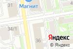 Схема проезда до компании Помощник в Новосибирске