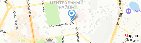 ЛимузинПати.рф от Станислава Молчанова на карте Новосибирска