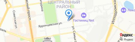 БАСКО на карте Новосибирска