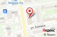 Схема проезда до компании Сибподводстройсервис в Новосибирске