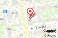 Схема проезда до компании Дарина в Новосибирске