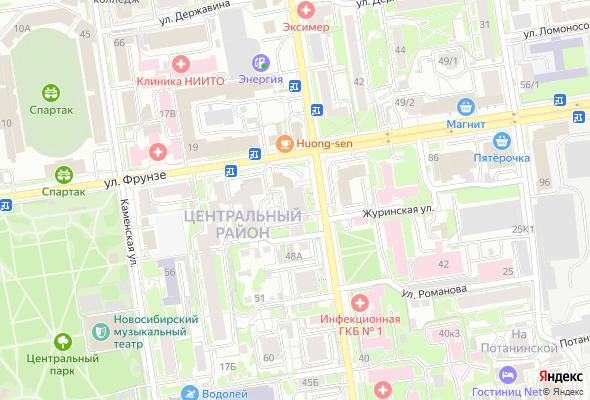 продажа квартир по ул. Фрунзе, 20