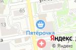Схема проезда до компании FENOMEN в Новосибирске