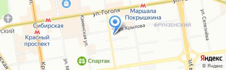 АН Партнер на карте Новосибирска