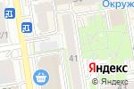 Схема проезда до компании Адвокат Кудряшов В.В. в Новосибирске