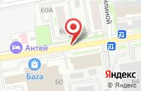 Схема проезда до компании Навигатор Рост в Новосибирске