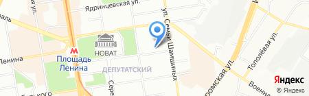 ГЕЛИОС на карте Новосибирска
