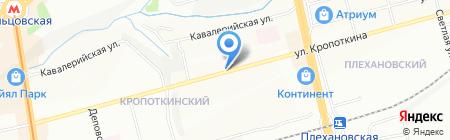Тандыр-Шашлык на Кропоткина на карте Новосибирска