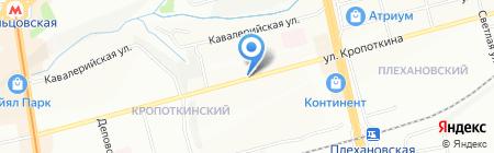 Интерра Парфюм на карте Новосибирска