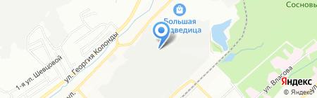 Айдес на карте Новосибирска
