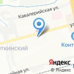 Магазин канцелярских товаров на карте Новосибирска