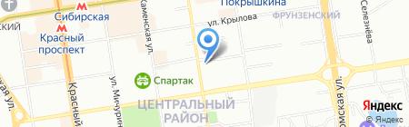 BOUDOIR на карте Новосибирска