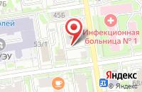 Схема проезда до компании От Саныча в Новосибирске