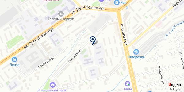 Участок №3 на карте Новосибирске