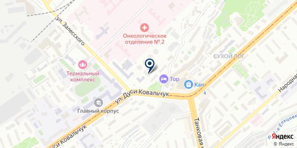 Высотник на карте Новосибирске