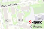 Схема проезда до компании ГАРАНТ в Новосибирске