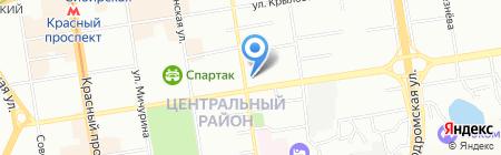 Леди на карте Новосибирска