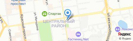 Bio-market на карте Новосибирска