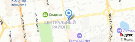 Лифт на карте Новосибирска