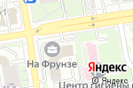 Схема проезда до компании LaDiva в Новосибирске