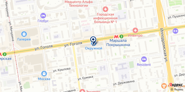 Сувенир54 на карте Новосибирске